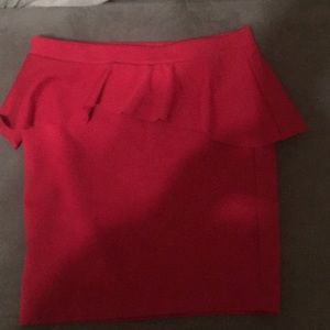 Candies Peplum Skirt